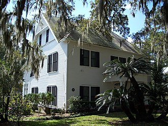 William Sherman Jennings House - Image: William Sherman Jennings House Brooksville 03