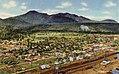 Williams AZ - Air View of Bill Wiliams Mtn. and Wiliams, Arizona (NBY 431231).jpg