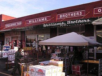 Philadelphia, Mississippi - Williams Brothers Store