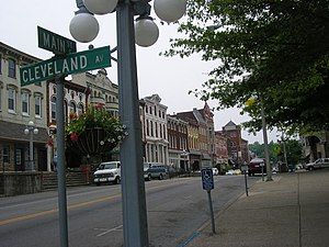 Winchester, Kentucky - Main Street in Winchester
