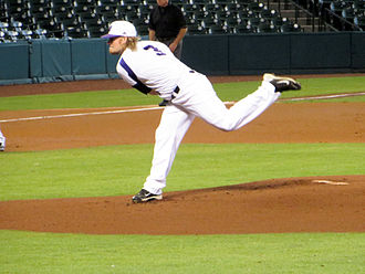 Winona State University - Baseball pitcher Mike Wasilik in 2014
