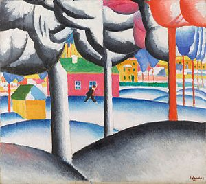Museum Ludwig - Image: Winter Landscape (Malevich, 1930)