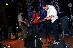 English: Wintersleep performing at The Wave in...