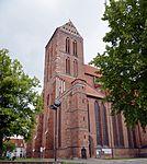 Wismar, St. Nikolai, Außenansicht. 3.JPG