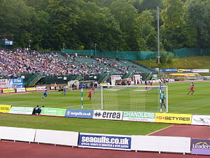 Withdean Stadium - South Stand