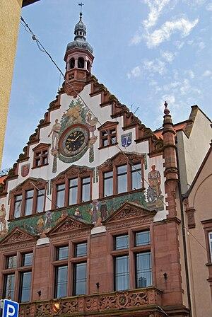 Wolfach - City Hall in Wolfach