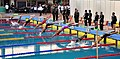 Women Swimmers at the final round of 200 meter swimming, at 12th South Asian Games-2016, in Dispur, Guwahati on February 06, 2016.jpg