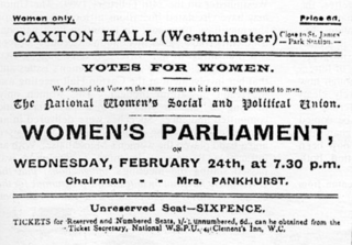 Grace Alderman British suffragette