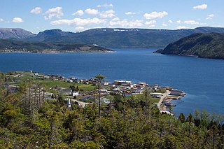 Woody Point, Newfoundland and Labrador Town in Newfoundland and Labrador, Canada