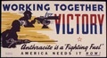 "Working together for Victory. Anthracite is a ""fighting fuel."" America needs it now. - NARA - 534850.tif"