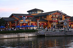 World of Disney - Florida location in February 2008