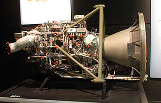 Reaction Motors XLR99 - The XLR-99 engine.