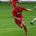 Liverpool FC's star midfielder Xabi Alonso
