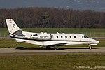 YU-SPC Cessna Citation XLS+ C56X PNC (23446615420).jpg