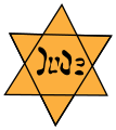 Yellow star Jude Jew.svg