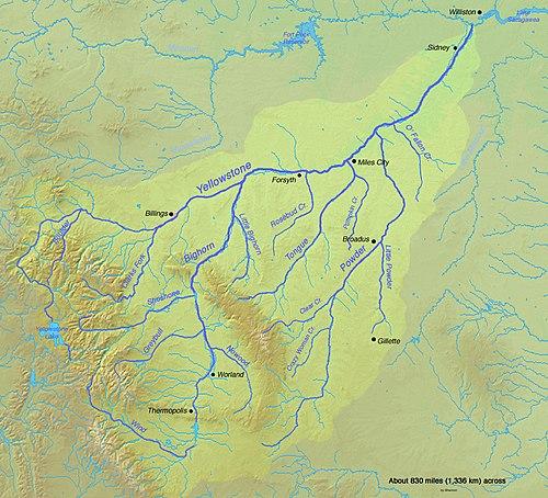 Yellowstonefloden Wikipedia