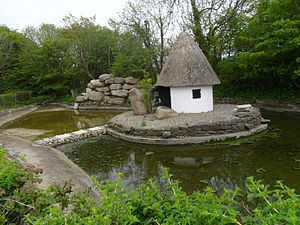 Forth and Bargy dialect - Yola hut refurbished in Tagoat, County Wexford, Ireland