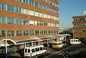 York Hospital Front entrance