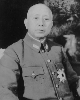 Yoshijirō Umezu Japanese general