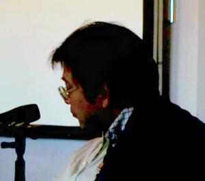 Yoshiyuki Sadamoto - Yoshiyuki Sadamoto at J-Popcon in Copenhagen, 2007
