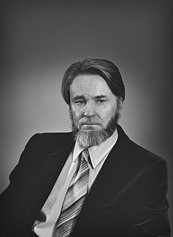 Yrjö Ahmavaara vuonna 1981.