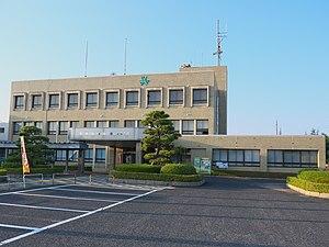 Yurihama, Tottori - Yurihama town office