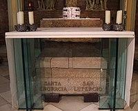 Zaragoza - Iglesia basílica de Santa Engracia, cripta 09.JPG