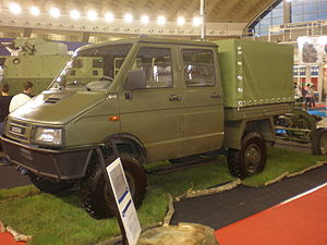Zastava Trucks - Zastava military truck based on the second-generation Iveco Daily