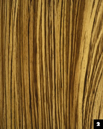 Faux painting - Example of the faux painting of a wood design