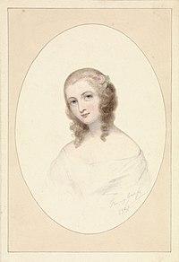 Zelfportret van Fanny Geefs (1841).jpg