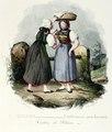 Zentralbibliothek Solothurn - SUISSE Costumes modernes Canton de Soleure - aa0845.tif