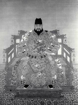 Esen Taishi - The Zhengtong Emperor, who was captured by Esen Taishi