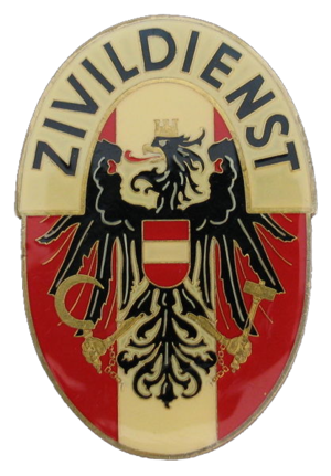 Zivildienst - Badge of Zivildienst (Austria, 1982)