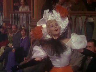 Elsa Schiaparelli - Zsa Zsa Gabor in Moulin Rouge (1952).