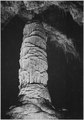 """""""Large formations or dome in the 'Hall of the Giants' or 'Big Room,' Carlsbad Caverns National Park,"""" New Mexico. (verti - NARA - 520027.tif"""