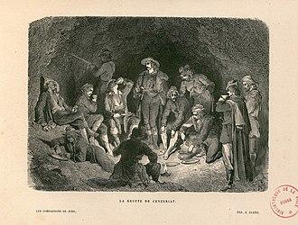 Companions of Jehu - Illustration by Gustav Dore to accompany Alexandre Dumas' novel 'Les compagnons de Jehu'