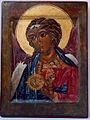 """""""St.Archangel Raphael"""",egg tempera, goldleaf on wood, sm 32x24.jpeg"""