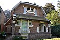 """Villa Zwaluwennest"" at Leopold III-lei 3, Edegem, Antwerp, Belgium; simple cottage style of around 1925; immovable property ID 12966 in heritage register ""Inventaris Onroerend Erfgoed"" (15 September 2016).jpg"