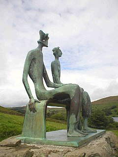 <i>King and Queen</i> (sculpture) sculpture series by Henry Moore