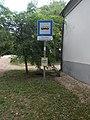 'Oroszlány, kamalduli remeteség' bus stop, 2018 Majkpuszta.jpg