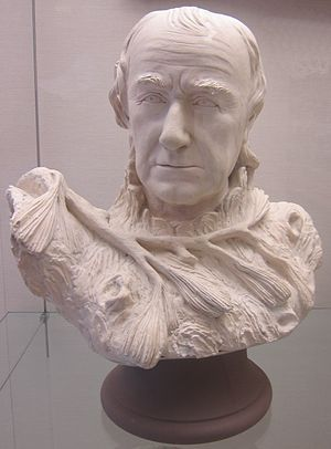 William Rush - Self-portrait bust by William Rush (1822), Pennsylvania Academy of the Fine Arts.