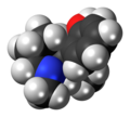 (S)-Meptazinol molecule spacefill.png
