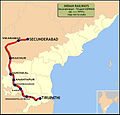 (Secunderabad - Tirupathi) Express Route map.jpg