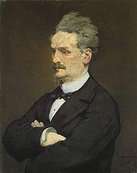 Édouard Manet: Portrait d'Henri Rochefort