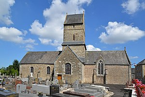 L'église Notre-Dame de Folligny.