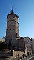 Église Saint-Jacques de Latour-Bas-Elne - Clocher depuis l'est.jpg