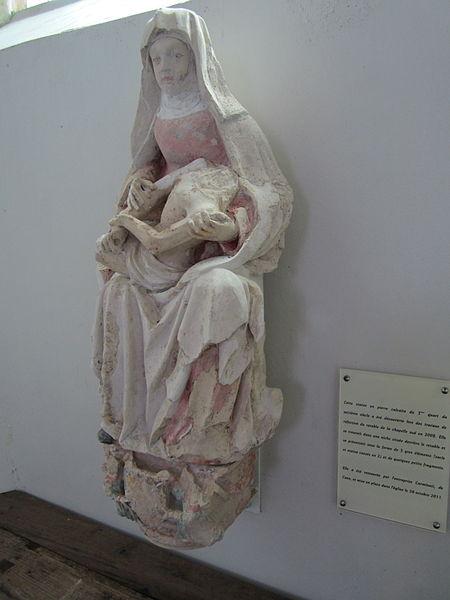 Sainte-Geneviève, Manche XVIe siècle, redécouvert en 2008
