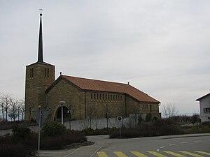 Saint-Blaise, Switzerland - Church in St-Blaise