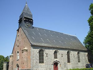 Johannes Symonis Hasprois - The church of Saint Hiltrude at Liessies was Hasprois's parish church from 1388 until 1390