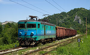 Railways of the Federation of Bosnia and Herzegovina - Image: ŽFBH 441 at Jabučić Polje